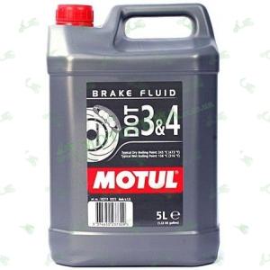 Тормозная жидкость Motul DOT 3&4 5 литров