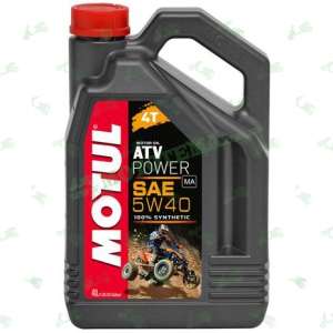 Масло моторное синтетика Motul ATV Power 4T 5W40 4 литра