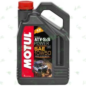 Масло моторное синтетика Motul ATV SxS Power 4T 10W50 4 литра
