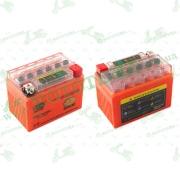 """АКБ   12V 4А   гелевый   (114x71x88, оранжевый, с индикатором заряда)   """"OUTDO"""""""