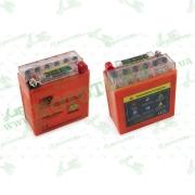"""АКБ   12V 5А   гелевый (высокий)   (119x60x128, оранжевый, с индикатором заряда)   """"OUTDO"""""""