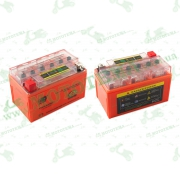 """АКБ   12V 7А   гелевый   (150x85x95, оранжевый, с индикатором заряда)   """"OUTDO"""""""