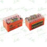 """АКБ   12V 7А   гелевый   (150x85x95, оранжевый, с индикатором заряда, вольтметром)   """"OUTDO"""""""