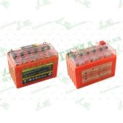 """АКБ   12V 9А   гелевый    (152x88x106, оранжевый, с индикатором заряда, вольтметром)   """"OUTDO"""""""