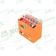 """АКБ   12V 12А   гелевый   (150.6x87.5x146.4, оранжевый, mod:YTX 14-BS)   """"OUTDO"""""""