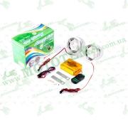 """Аудиосистема 2.0   mod:GSG-07   (3"""", с диодами, сигнализация, FM/МР3 плеер, ПДУ, разъем ППДУ 3K)"""