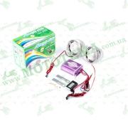 "Аудиосистема 2.0   mod:938   (3"", с диодами, сигн., МР3/FM/MicroSD, ПДУ, разъем ППДУ 3.5mm)"