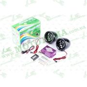 """Аудиосистема 2.0   mod:928С   (3"""", черные, сигн., МР3/FM/MicroSD/USB, ПДУ, разъем ППДУ 3.5mm)"""