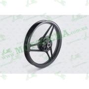 Диск колеса легкосплавный Yamaha YBR125  1,85 * 18   (зад, барабан + подшипник, резинки демпферные)