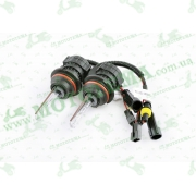 Лампы биксеноновые (пара)   HB1 (12V 50W DC AMP)   5000K