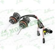 Лампы биксеноновые (пара)   HB5 (12V 50W DC AMP)   5000K