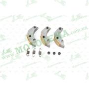 """Колодки сцепления   Honda SH 150   (пружины, демпферы, 3шт)   """"KOMATCU"""""""