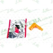"""Насвечник (тюнинг)   90*, Г- образный   (оранжевый)   """"ZUNA"""""""