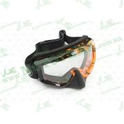 Очки кроссовые   (mod:M-81A2, прозрачное стекло)