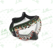 Очки кроссовые   (mod:M-81A10, прозрачное стекло)