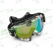 Очки кроссовые   (mod:MJ-16A1, стекло хамелеон)