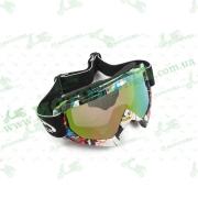 Очки кроссовые   (mod:MJ-16A4, стекло хамелеон)