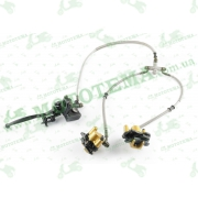 Тормозная система дисковая (в сборе, передняя)   ATV 110/250