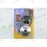 """Вариатор передний (тюнинг)   Suzuki AD50   (ролики латунь 9шт, палец, пружины сцепления)   """"DLH"""""""