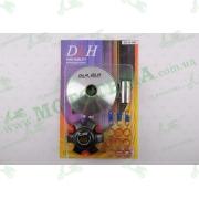 """Вариатор передний (тюнинг)   4T GY6 150   (ролики латунь 9шт, палец, пружины сцепления)   """"DLH"""""""