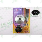 "Вариатор передний (тюнинг)   4T GY6 50 спорт   (ролики латунь 9шт, палец, пружины сцепления)   ""DLH"""
