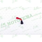 """Ниппель колеса (стайлинговый, косой)   (красный)   (#0002)    """"MAX GUARD"""""""