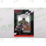 """Вариатор передний (тюнинг)   4T GY6 50   (?89mm, медно-граф. втулка, ролики 8г латунь)   """"KOSO"""""""