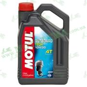 Масло Motul Outboard Tech 10W30 4T 5 литров для лодочного мотора.