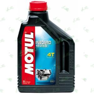 Масло Motul Inboard 4T 15W40 2 литра для дизельных двигателей водной техники