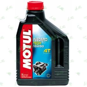 Масло Motul 15W-50 4T Inboard Tech Technosynthese 2 литра для 4-х тактных бензиновых двигателях водной техники