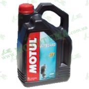 Моторное масло Motul Outboard 2T минеральное 5 литров
