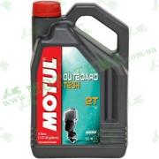 Моторное масло Motul Outboard Tech 2T 5 литров