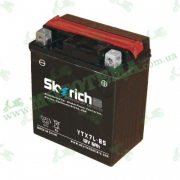 Аккумулятор Skyrich YTX7L-BS 12V 6 Ah 112*70*130  (Loncin Pruss, City Star)