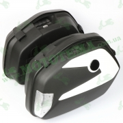 Кофр для мотоцикла (багажник) FXW HF-V35