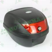 Кофр для мотоцикла (багажник) (395*395*300мм) FXW HF-880 Черный мат
