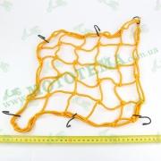 Сетка багажника, паук 'PROBIKER' оранжевая