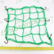 Сетка багажника, паук 'PROBIKER' зелёная