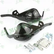 Универсальная защита для рук с алюминиевым каркасом для мотоциклов (черный)