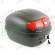 Кофр для мотоцикла (багажник) (395*395*300мм) FXW HF-808 Черный