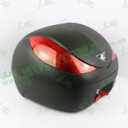 Кофр для мотоцикла (багажник) со стоп сигналом и сигнализацией Coocase Wizard (36л) черный матовый