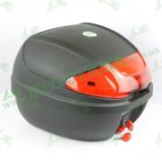 Кофр для мотоцикла (багажник) (410*400*300мм) FXW HF-877 Черный мат