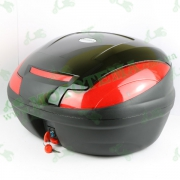 Кофр для мотоцикла (багажник) (570*340*420мм) FXW HF-882 Черный лак