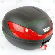 Кофр для мотоцикла (багажник) (430*410*315мм) FXW HF-866 Черный мат