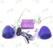 Динамики музыкальные USB-MP3 + сигнализация + FM Radio (обычный корпус)
