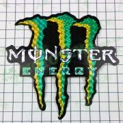 """Наклейка логотип """"MONSTER ENERGY"""" (13х12см) (#7312C)"""