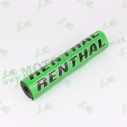 """Поролон на перекладину руля """"RENTHAL"""" зеленая"""