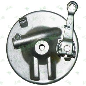 Крышка переднего колеса + колодки Delta/Alpha