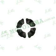 Демпферные резинки комплект (литое колесо) мопеда Delta/Alpha/Active