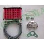Масляный радиатор (комплект) для моторов JH 50/70/110 (Alpha, Delta, Aktiv)