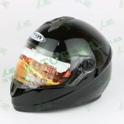 Шлем FXM HF-122 чёрный глянец